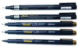 Drawn pen waterproof