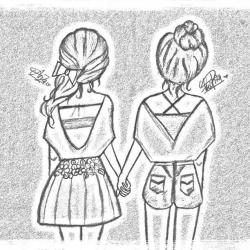 Drawn course friendship