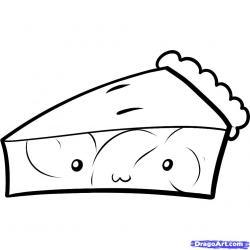 Drawn pie