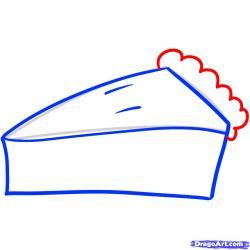Drawn pies easy
