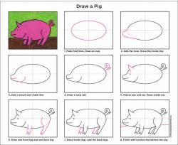 Drawn pig