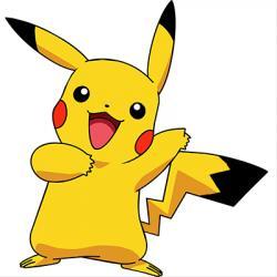 Pikachu clipart tail