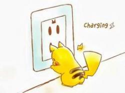 Drawn pikachu funny