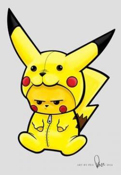 Pikachu clipart graffiti