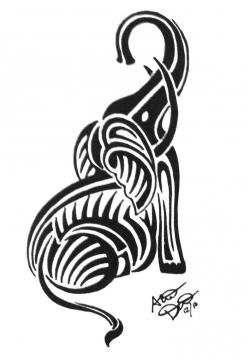 Tribal clipart elephant