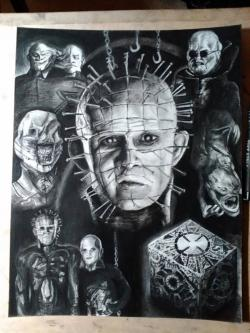 Drawn pinhead google earth