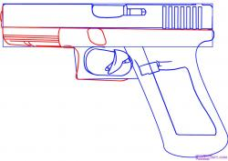 Drawn weapon famous