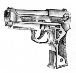 Drawn pistol basic