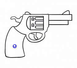 Drawn pistol little easy