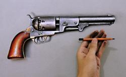 Drawn weapon realistic