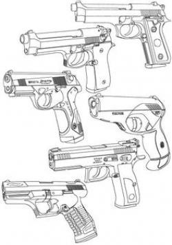 Drawn shotgun scope