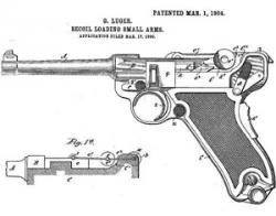 Drawn pistol ww2 gun