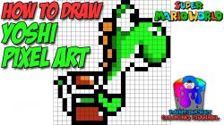 Drawn pixel art 16 bit