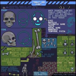 Drawn pixel art game developer
