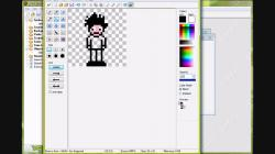 Drawn pixel art game maker