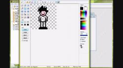 Drawn pixel art game maker