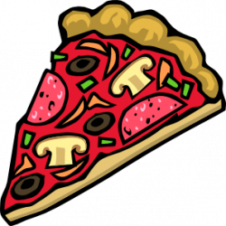 Pizza clipart strong