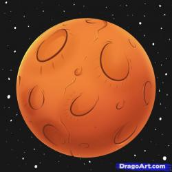 Drawn planets mercury