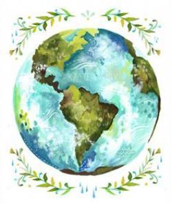 Drawn planets global