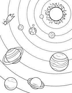 Drawn planets individual