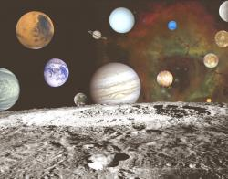 Universe clipart outer space