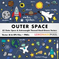 Sci Fi clipart outer space