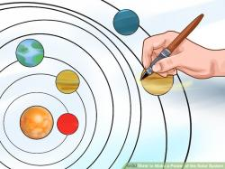 Poster clipart solar system