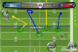 Drawn playing madden football