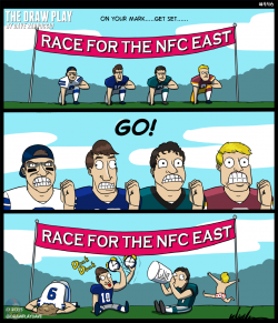 Drawn playing nfc north