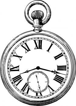 Pocket Watch clipart