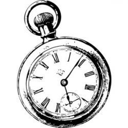 Alice In Wonderland clipart stopwatch