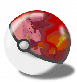 Drawn pokeball animated