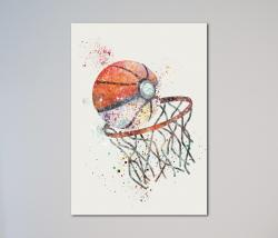 Drawn pokeball basketball