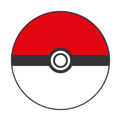 Drawn pokeball boll