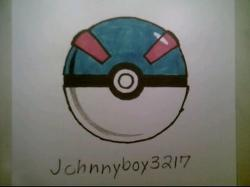 Drawn pokeball brazuca