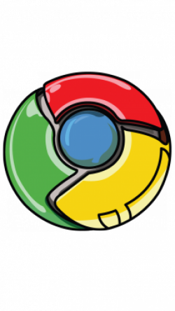Drawn pokeball chrome
