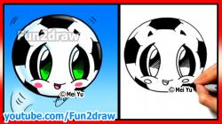 Drawn pokeball funny football