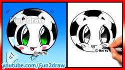 Drawn pokeball funny football