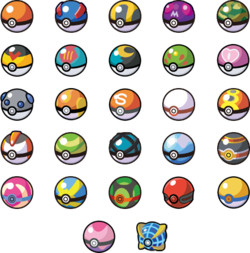 Pokeball clipart original