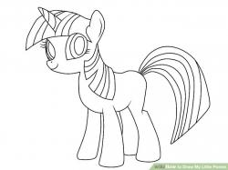 Drawn my little pony