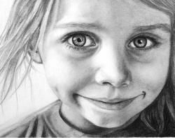 Drawn people portrait