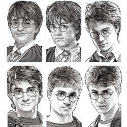 Drawn amd harry potter