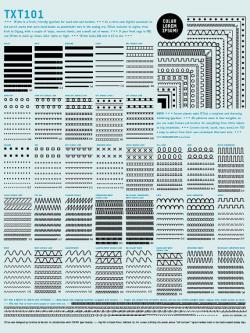 Drawn poster letraset