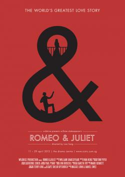 Drawn poster romeo and juliet