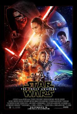 Drawn poster star wars