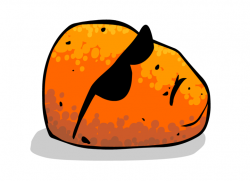 Drawn potato