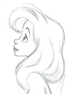 Drawn princess easy