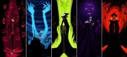 Drawn princess female disney villain