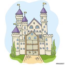 Drawn princess had kingdom