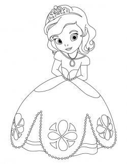 Drawn princess princess sofia